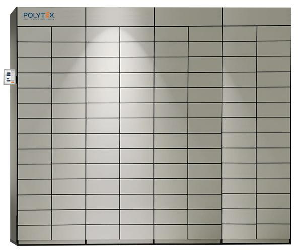 Polytex Multilocker units biometric reader