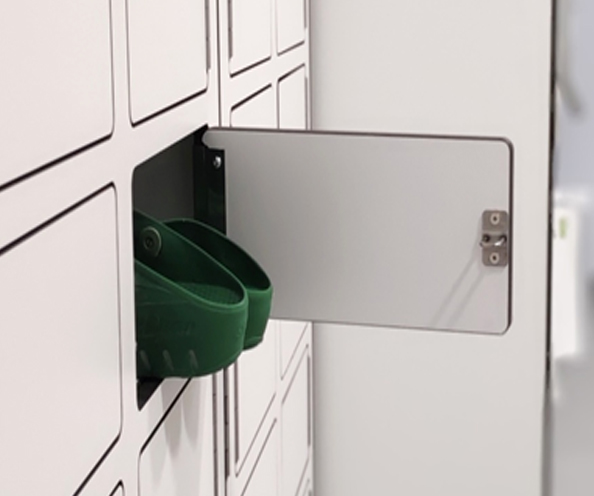 Smart multi lockers, variety of cell sizes and ID