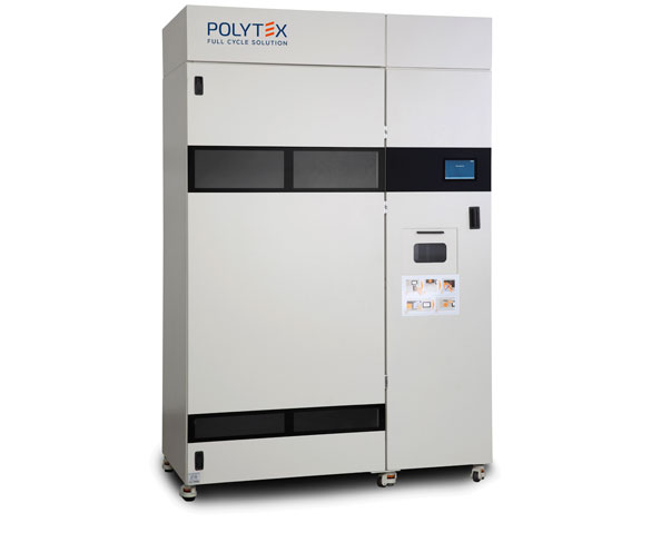The Polytex R310 Garment Return Unit to return soiled workwear items and store them until they are dispatched to the laundry service.