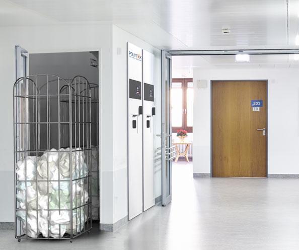 scrubs dispensing solutions return unit