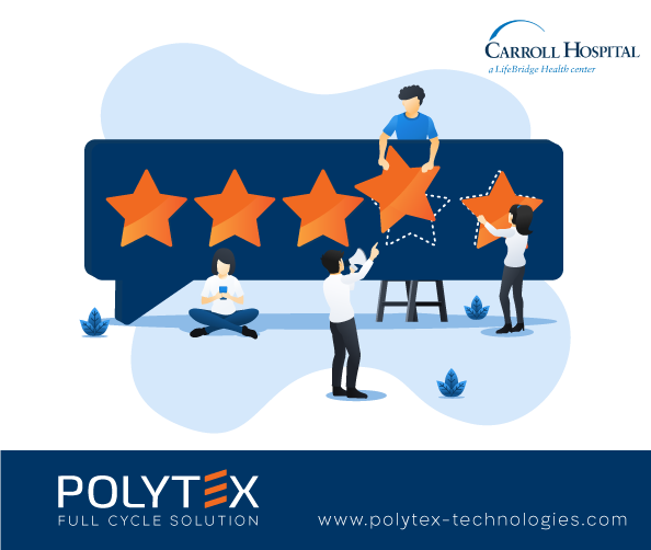 Carroll Hospital customer review on Polytex automated workwear system