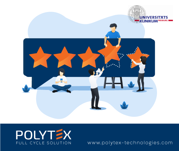 University Medical Center Freiburg review on Polytex automated workwear system